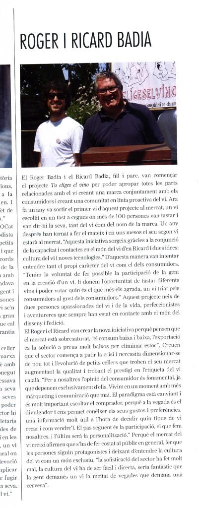 Article Revista Cupatges nº 47